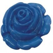 1x bloemkraal blauw