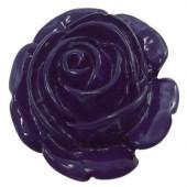 1x bloemkraal paars