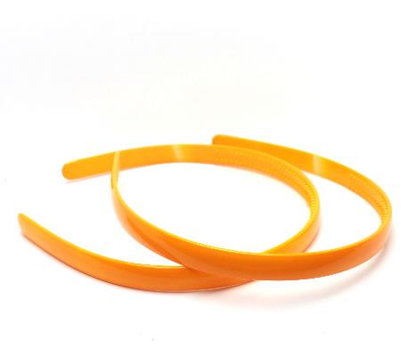 1x acryl diadeem Oranje 11.5 mm