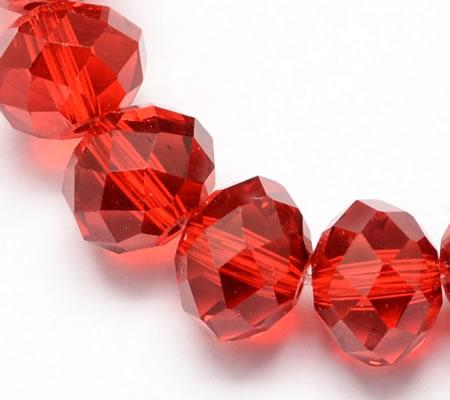 Snoertje 150 stuks Facet Kraaltje Rood