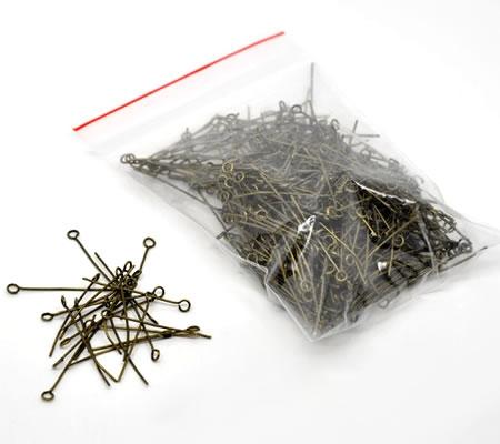 400 stuks kettelstiften Brons 35 mm