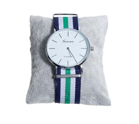 Kussentje voor armbanden/horloge grijs