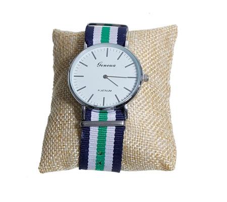 Kussentje voor armbanden/horloge Jute