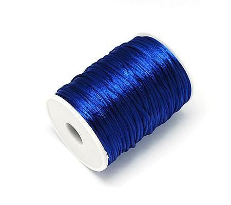 Soepel vallend koord Blauw