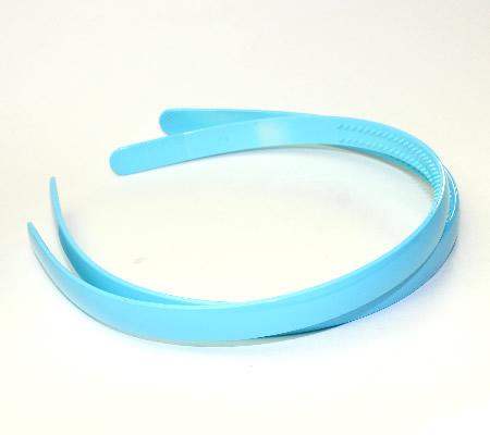1x acryl diadeem Turquoise 11.5 mm