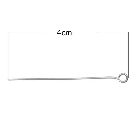 300x Kettelstiften RVS 40 mm